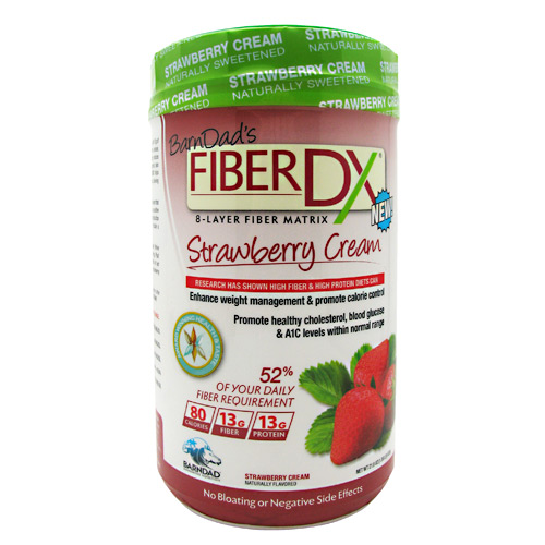 Fiber Dx Strawberry Cream 1.7 Lbs By Barndad