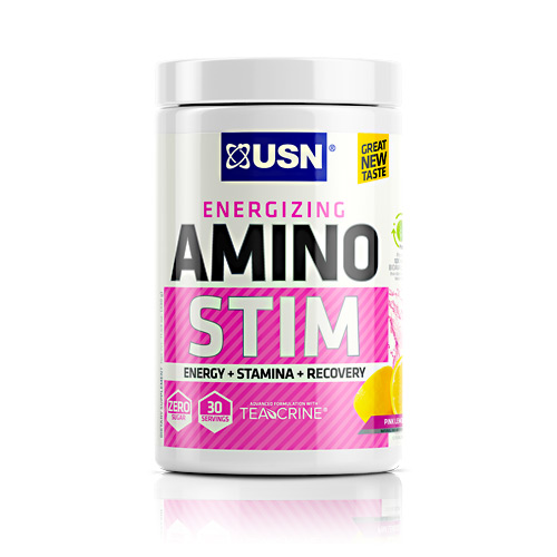 Amino Stim Pink Lemonade 30 Servings By Usn