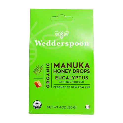 Organic Manuka Honey Drops Eucalyptus 4 OZ
