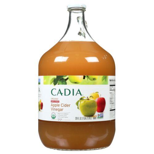 Organic Apple Cider Vinegar 128 Oz by Cadia
