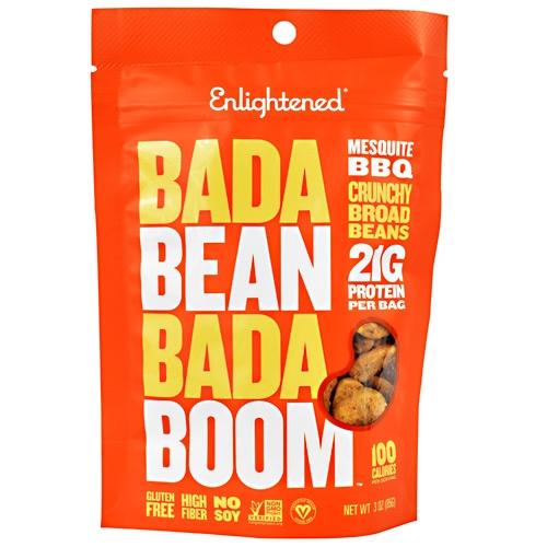 Vitamins & Dietary Supplements Earnest Bada Bean Bada Boom Barbeque 6 Count Endurance & Energy Bars, Drinks & Pills