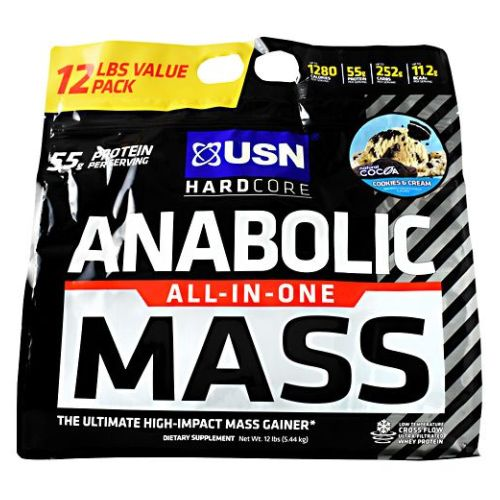 Vitamins & Dietary Supplements Obedient Anabólico Mass Cookies & Cream 5.4kg By Usn With A Long Standing Reputation